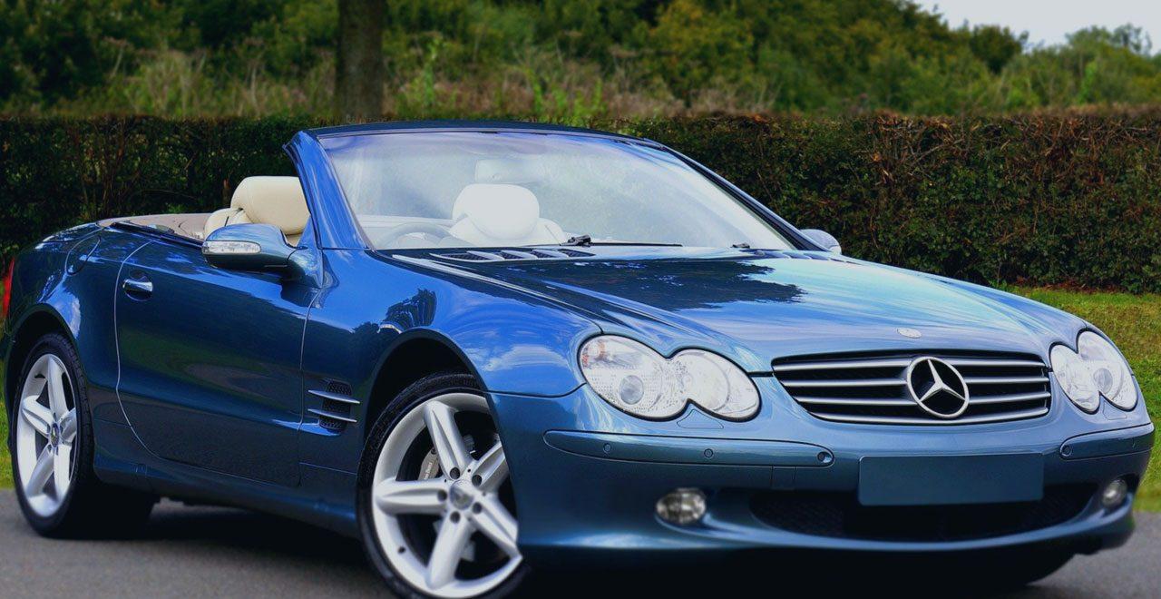 Insolvenz Luxusauto Mercedes